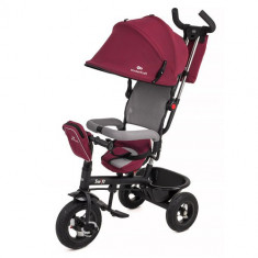 Tricicleta 6 in 1 cu Scaun Rotativ Swift Violet - Tricicleta copii Kinderkraft