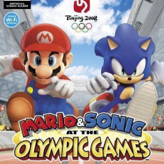 Mario and Sonic at the Olympic Games - Beijing 2008 - Nintendo Wii [Second hand] - Jocuri WII, Actiune, 3+, Multiplayer