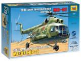 Kit Macheta Zvezda Elicopter MIL MI-8T 1:72