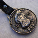Frumos breloc metalic inscriptionat FFV Gustav 1552