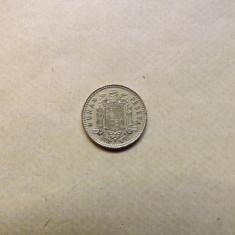 Spania 1 Peseta 1966 (75) - MS 2, Europa, Bronz-Aluminiu