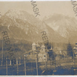 2428 - PREDEAL, panorama - old postcard, real PHOTO, CENSOR - used - 1918, Circulata, Fotografie
