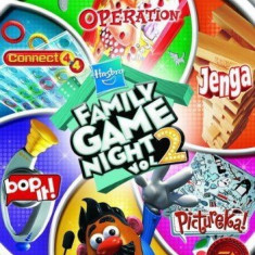 Hasbro - Family game night Vol 2 - Nintendo Wii [Second hand], Board games, 3+, Multiplayer