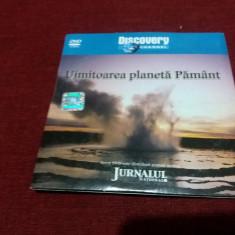 DVD DISCOVERY UIMITOAREA PLANETA PAMANT - Film documentare, Romana