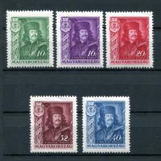 Ungaria 1935 Rakoczi serie mnh, Etiopia, An: 1940, Transporturi, Nestampilat