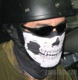 Masca snowboard Skull ghost ski bandana esarfa biker ciclism moto airsoft craniu