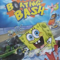 Nickelodon - Spongebob Squarepants - Boating bash - Nintendo Wii [Second h] fm - Jocuri WII, Curse auto-moto, 3+, Multiplayer