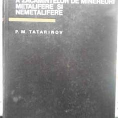 Conditiile De Formare A Zacamintelor De Minereuri Metalifere - P.m. Tatarinov, 411419 - Carte Geografie