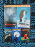 1 DVD 5 FILME DOCUMENTARE - AN INCONVENIENT TRUTH + MARCH OF THE PENGUINS + ..., Romana