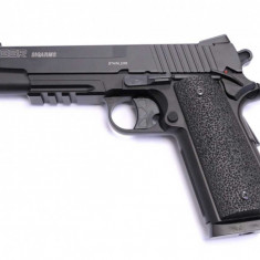 Replica CyberGun Sig Sauer 1911 GSR CO2 metal slide NBB arma airsoft pusca pistol aer comprimat sniper shotgun