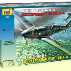 Macheta Zvezda Avion German Messerschmitt BF-109 F4 1:48