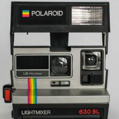 Aparat foto film instant POLAROID 630SL LIGHTMIXER - Aparate Foto cu Film