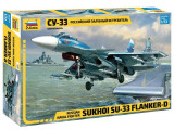 Macheta Zvezda Avion Rusesc SU-33 Flanker D 1:72