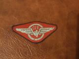 Insigna material textil - Cuc CFR !!!