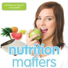 Nutrition Matters - Mind, body, soul - Nintendo Wii [Second hand], Sporturi, 3+, Single player