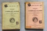 Anale Analele lui Cornelius Tacitus  / trad. de E. Lovinescu  2 volume