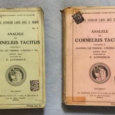 Anale Analele lui Cornelius Tacitus / trad. de E. Lovinescu 2 volume - Istorie