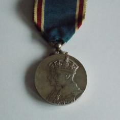 Medalie argint George VI-coronation medal 12 may 1937(3101), Europa