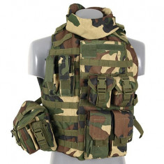 Vesta Interceptor Body Armour Woodland