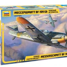 Macheta Zvezda Avion German Messerschmitt BF-109 G6 1:48