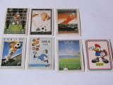 Lot 7 stickere fotbal - Campionatul European Franta 1984 (Figurine Panini)