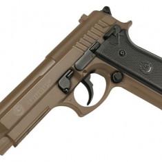 Replica Taurus PT92 Metal Slide TAN arma airsoft pusca pistol aer comprimat sniper shotgun