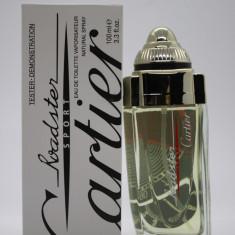 Parfum Tester Cartier Roadster Sport EDT (100 ml) de barbati - Parfum barbati Cartier, Apa de toaleta