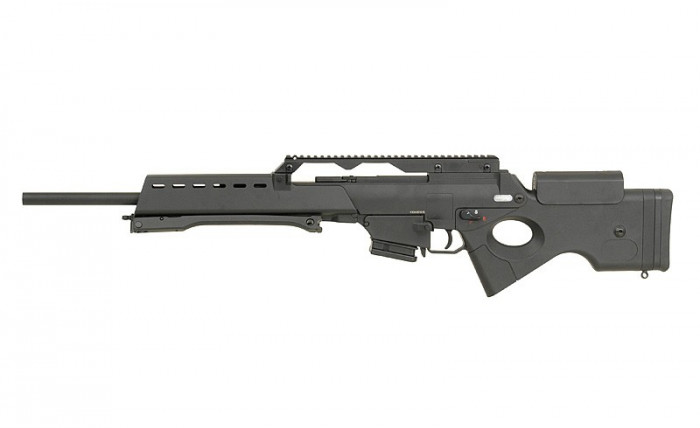 Replica Warrior W36 SL9 AEG arma airsoft pusca pistol aer comprimat sniper shotgun