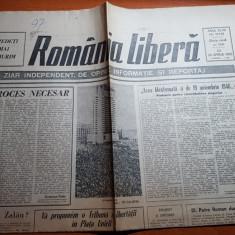 ziarul romania libera 26 aprilie 1990-art. un proces necesar de octavian paler