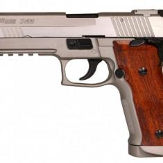 Replica CyberGun Sig Sauer P.226 X-five CO2 Silver arma airsoft pusca pistol aer comprimat sniper shotgun