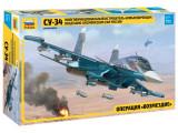 Macheta Zvezda Avion Rusesc Sukhoi SU-34 1:72