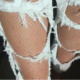 Ciorapi plasa cu pietre