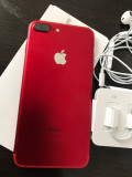 IPhone 7 plus 256gb red, Rosu, Neblocat