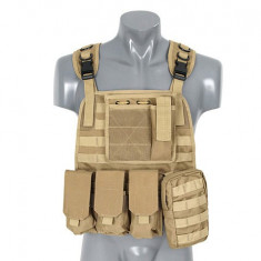 Vesta Plate Carrier Harness Coyote