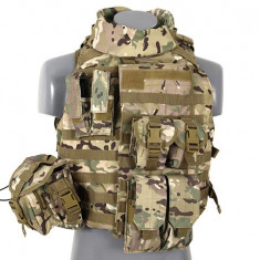 Vesta Interceptor Body Armour Multicamo