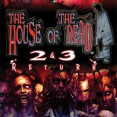 The House of the dead - 2 and 3 The return- Nintendo Wii[Second hand] - Jocuri WII, Shooting, 12+, Multiplayer