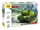 Macheta Zvezda Tanc Sovietic ISU-122 1:72