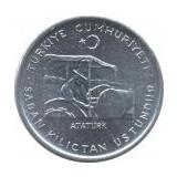 Turcia 10 Kuruş 1975(FAO) Ataturk,  Aluminiu, 21 mm KM-898a UNC !!!, Asia