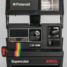 Aparat foto film instant POLAROID 635CL SUPERCOLOR - Aparate Foto cu Film