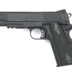 Replica Colt M1911 Rail Gun CO2 Cybergun Resigilat