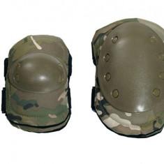 Set protectie genunchi si coate 8FIELDS Multicam - Echipament Airsoft