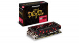 Placa Video - NOU! Radeon RX 580 Red Devil Golden Sample POWERCOLOR 8GB GDDR5, PCI Express, 8 GB, AMD, Powercool