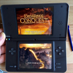 Consola Nintendo DSi XL Black Modata R4i Card 4Gb(jocuri gratis), Nintendo DS XL