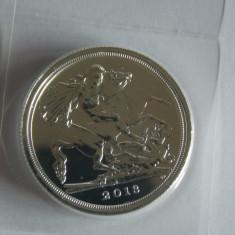 Moneda de argint 20 pounds Anglia 2013(15, 71 gr), Europa