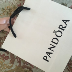Lant de siguranta Pandora original - Bratara argint