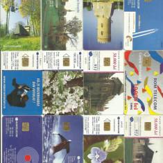 Romania lot cartele telefonice - cateva rare - Cartela GSM