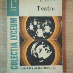 TEATRU de H. IBSEN - Carte Teatru