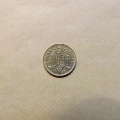 Spania 1 Peseta 1975 (80) - MS 1, Europa, Bronz-Aluminiu