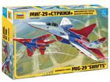 "Macheta Zvezda Avion Rusesc MIG-29 ""Swifts"" 1:72"