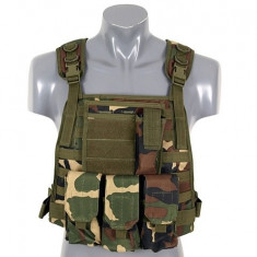 Vesta Plate Carrier Harness Woodland